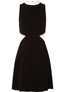 Rachel Zoe Constance Cutout Crepe Mini Dress