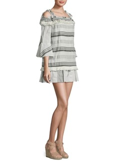 Rachel Zoe Covie Off-the-Shoulder Bell-Sleeve Dress