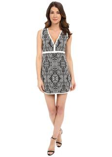 Rachel Zoe Detra Floral Jacquard Dress
