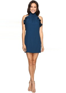 Rachel Zoe Eden Satin Back Crepe Dress