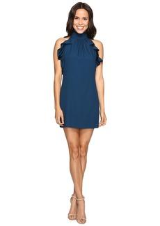 Rachel Zoe Eden Satin Back Crepe Dress