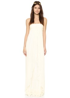 Rachel Zoe Elle Strapless Empire Gown