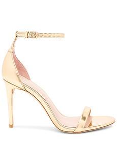 RACHEL ZOE Ema Metallic Heel in Metallic Gold. - size 10 (also in 6.5,7.5,8.5,9)