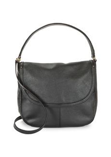 Cole Haan Flap Pebbled Leather Shoulder Bag