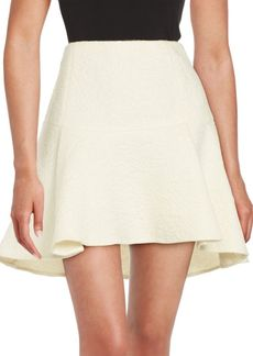 Rachel Zoe Flared Mohair, Wool and Alpaca Skirt
