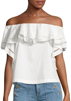 Rachel Zoe Gaia Off-the-Shoulder Top