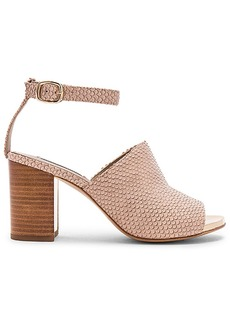 RACHEL ZOE Grechen Heel in Beige. - size 7.5 (also in 10,9)