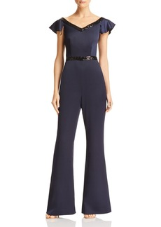 Rachel Zoe Hope Sequin-Trimmed Jumpsuit - 100% Exclusive