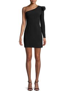 Rachel Zoe Ivy One-Shoulder Cocktail Dress