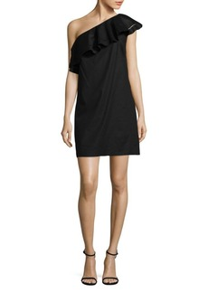 Rachel Zoe Kendall One-Shoulder Dress