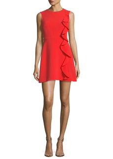 Rachel Zoe Krause Sleeveless Ruffled Cocktail Dress