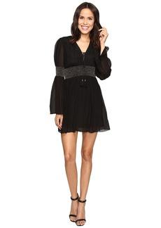 Rachel Zoe Laurel Crinkle Chiffon Dress