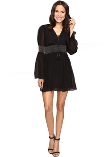 Rachel Zoe Laurel Crinkle Chiffon Dress