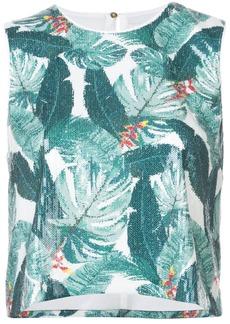 Rachel Zoe leaf pattern blouse - Multicolour