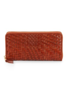 Cole Haan Leather Weave Wallet
