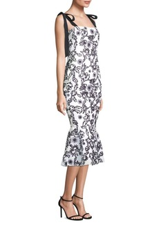 Rachel Zoe Lily Floral Mermaid Dress