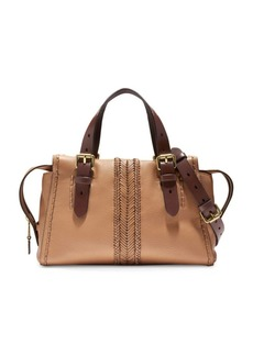 Cole Haan Loralie Whipstitch Leather Satchel