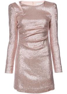 Rachel Zoe metallic fitted mini dress - Pink & Purple