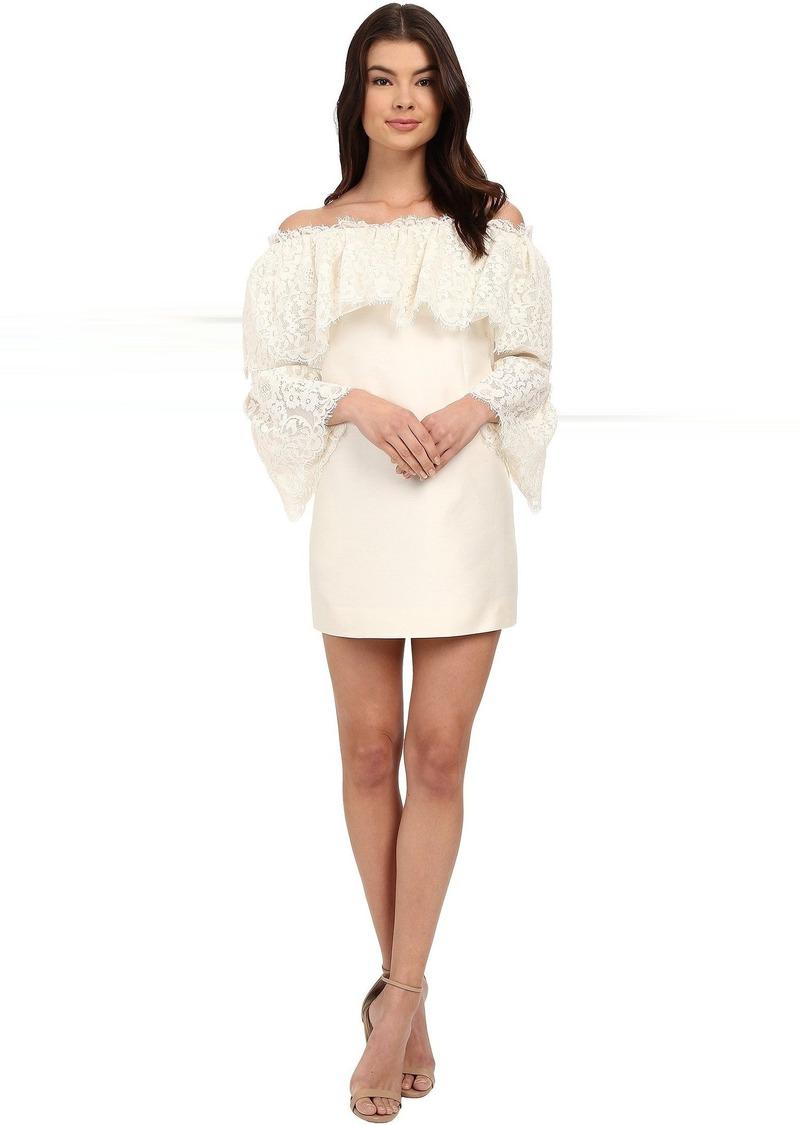 Rachel Zoe Sailor Off the Shoulder Lace Dress