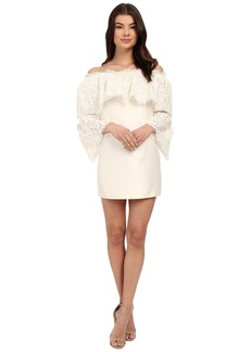 Rachel Zoe Sailor Off the Shoulder Lace Dress