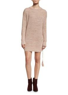 Rachel Zoe Sonia Sweater Dress w/Lace-Up Side