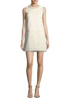 Rachel Zoe Spencer Sleeveless Metallic Brocade A-line Dress