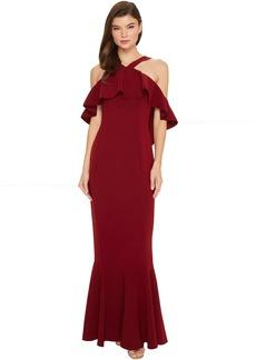 Rachel Zoe Stretch Crepe Baxter Maxi Dress