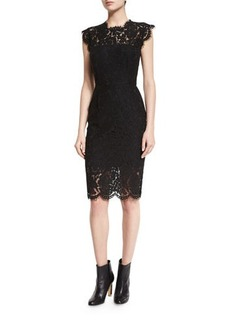 Rachel Zoe Suzette Floral Lace Sheath Dress