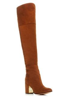 Rachel Zoe Twilight Lace Up Over The Knee High Heel Boots