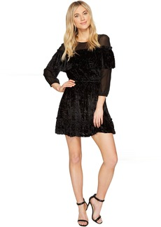 Rachel Zoe Velvet Burnout Pire Dress