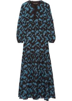 Rachel Zoe Victoria printed silk-chiffon maxi dress