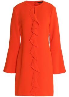 Rachel Zoe Woman Monner Ruffled Crepe Mini Dress Coral