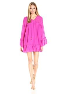 Rachel Zoe Women's Anita Ruffle Hem Dress