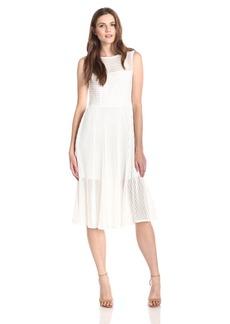 Rachel Zoe Women's Ari Shadow Stripe Midi Dress