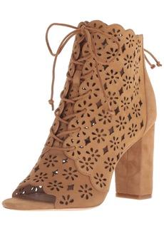 Rachel Zoe Women's Ashlee Peep Toe Bootie Ankle Boot   M US