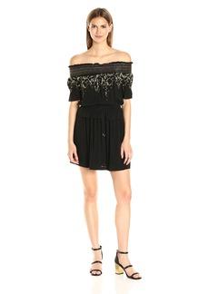 Rachel Zoe Women's Bethany Off Shoulder Dress