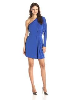 Rachel Zoe Women's Blew One-Shoulder Dolman Sleeve Dress