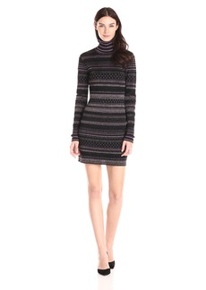 Rachel Zoe Women's Bonnie Open Back Jacquard Dress