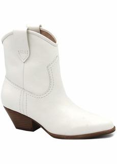 Rachel Zoe Women's Cameron Western Bootie Boot   M US