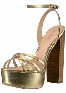 Rachel Zoe Women's Charlotte Platform Sandal Heeled   M US