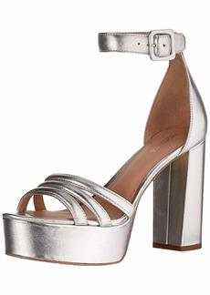 Rachel Zoe Women's Ella Platform Sandal Heeled   M US