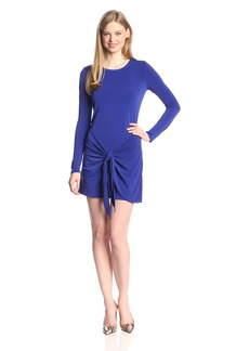Rachel Zoe Women's Enya Wrapped Sarong Jersey Dress