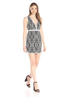 Rachel Zoe Women's Floral Jacquard Dress