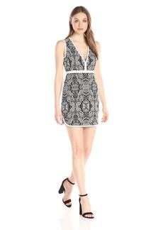 Rachel Zoe Women's Floral Jacquard Dress