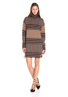 Rachel Zoe Women's Fran Patch Jacquard Dress
