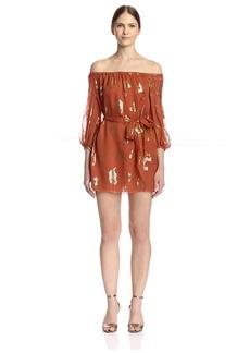 Rachel Zoe Women's Frankie Off-Shoulder Mini Dress