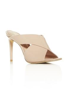 Rachel Zoe Women's Lauren Crisscross High-Heel Slide Sandals