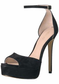 Rachel Zoe Women's Margo Platform Sandal-Suede   M US