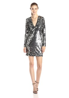 Rachel Zoe Women's Muse Sequin V-Neck Dress