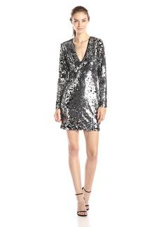 Rachel Zoe Women's Muse Sequin V-Neck Dress